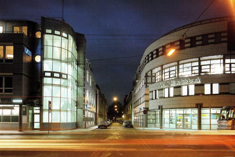 Neubau Württemb. Handelsbank Stuttgart